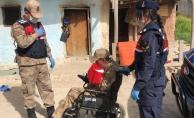 Jandarma, 17 yaşındaki engelli gencin hayalini gerçekleştirdi