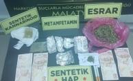 Malatya'da torbacı operasyonu: 4 tutuklama!