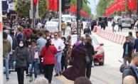Malatya'da maskesiz sokağa çıkanlara ceza yağdı!