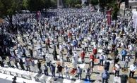 """Cumhurbaşkanı Erdoğan açıkladı! """"350 bin kişi iştirak etti"""""""