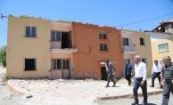 Depreme dayanıksız olan Orduzu Belediye Binası yıkıldı