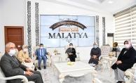 Erenler'den, Malatya Büyükşehir'e ziyaret