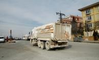 Malatya'da ağır tonajlı kamyonlar tehlike oluşturuyor! Mahalleli isyan etti!