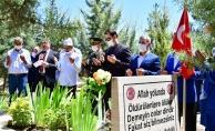 Malatya'da 15 Temmuz şehitleri mezarı başında anıldı