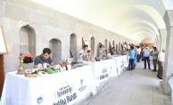 Malatya'da ilk antika pazarı Kervansaray'da açıldı