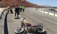 Hekimhan'da motosiklet kazası: 1 ölü, 1 ağır yaralı