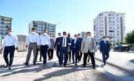Başkan Gürkan çalışmaları yerinde inceledi