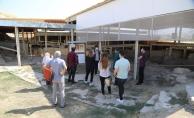 Covid-19'a rağmen Arslantepe'ye ziyaretçi akını
