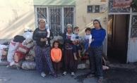 3 kadının 11 çocukla hayata tutunma mücadelesi!