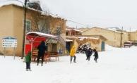 Malatya'nın bazı ilçelerinde kar yağışı etkili oldu!