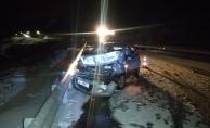 Malatya'da kar yağışı kazalara neden oldu!