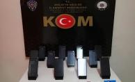 Malatya'da kaçak cep telefonu operasyonu! 1 gözaltı