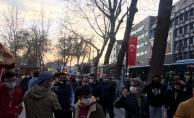 YMS mağlubiyeti taraftarı sokağa döktü! Kentte istifa sesleri yankılandı