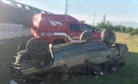 Otomobil takla attı! 1 ölü