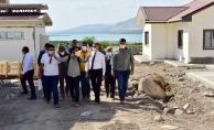 Kale'de köy konutları tamamlandı