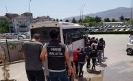 Malatya'da torbacı operasyonu: 17 tutuklama