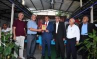 Başkan Gürkan,muhtarlarla teşekkür plaketi programına katıldı
