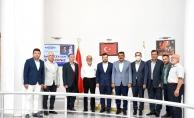 Başkan Gürkan, ÖNDER İmam Hatipliler Derneği Genel Başkanı Ceylan'ı ağırladı