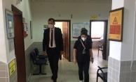 Yeni kaymakam Kazdal sahalara indi, İlçe devlet hastanesini denetledi…