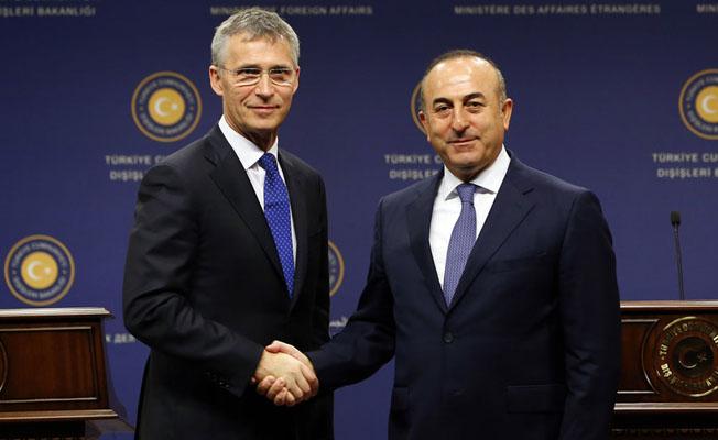NATO Genel Sekreteri Stoltenberg, Çavuşoğlu ve Canikli ile Görüştü