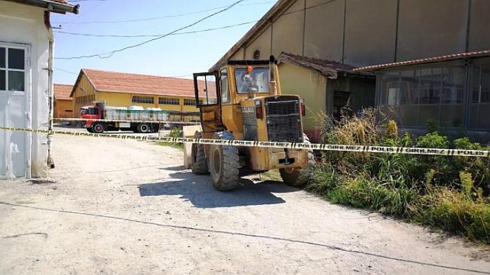 Fabrika'da çalışan işçinin feci ölümü!