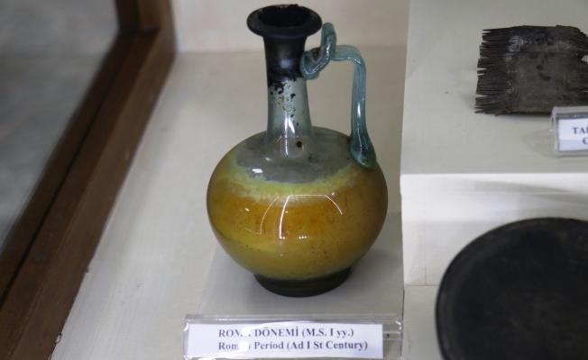 2 bin yıllık yağdanlık Malatya Arkeoloji Müzesi'nde sergileniyor