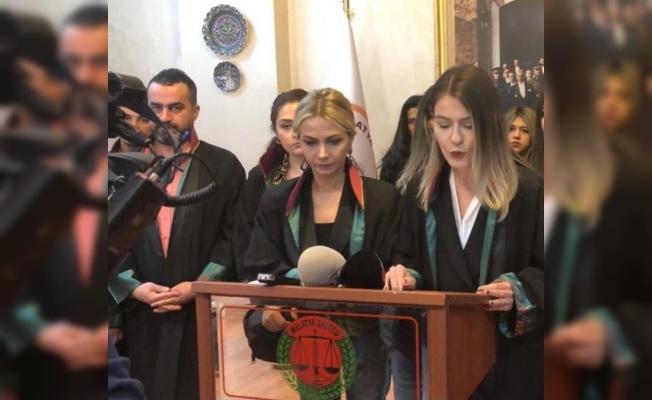 Kadın avukatlardan 8 Mart kutlaması