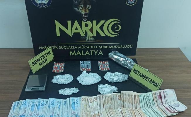 Malatya'da torbacı operasyonu: 5 tutuklama