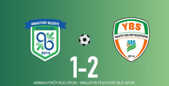 Yeşilyurt, İstanbul'dan 3 puanla dönüyor: 1-2