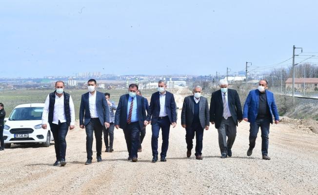 Başkan Çınar, alternatif yol güzergâhını inceledi