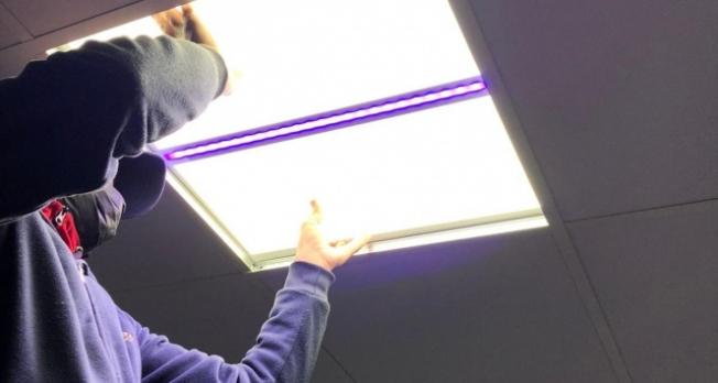 Korona virüse karşı nano ışık sistemi! Havada asılı kalan ve yüzeye yapışan virüsleri yok ediyor!