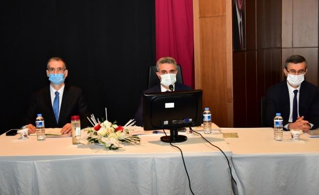 Malatya'da 2021 yılı yatırımları masaya yatırıldı