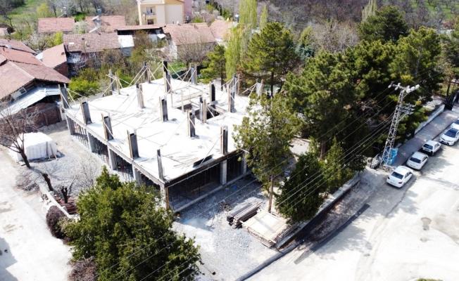 Orduzu Gençlik Merkezi'nde inşaat çalışmaları yeniden başladı