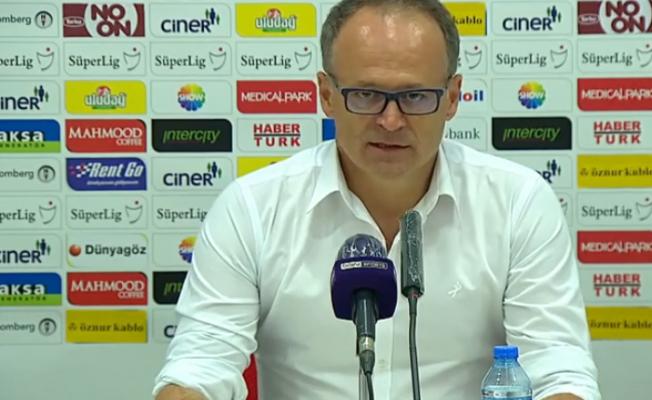 """""""Sert geçen Fenerbahçe müsabakasından sonra puan almak önemliydi"""""""