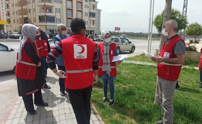 Türk Kızılayı Yeşilyurt Şubesi'nden ihtiyaç sahiplerine yardım eli