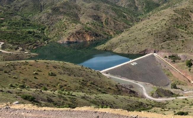 Yaygın Göleti'nden su tahliyesi başladı