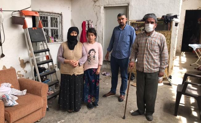 Engelli kocasına ve çocuklarına bakan vefakar kadın yardım bekliyor