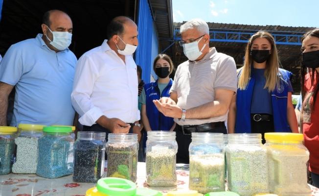 Başkan Güder'den çevre farkındalığı ziyareti