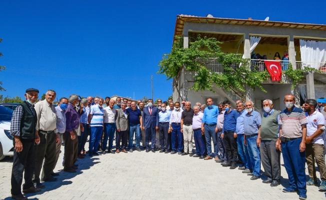 Başkan Gürkan, vatandaşlarla buluştu, yapılan ve yapılacak hizmetleri anlattı