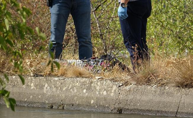 Darende'de sulama kanalında ceset bulundu!