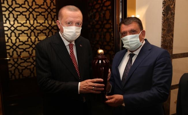Gürkan, Cumhurbaşkanı Erdoğan'ı Malatya'ya davet etti