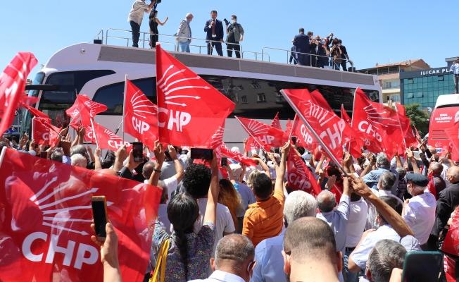 İBB Başkanı İmamoğlu, Malatya'da CHP'lilerle buluştu