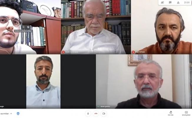 """Malatya'da """"Kutsal Şehir Kudüs"""" konulu online seminer düzenlendi"""