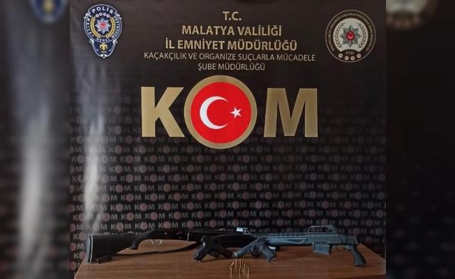 Malatya'da silah ticareti operasyonu: 2 tutuklama