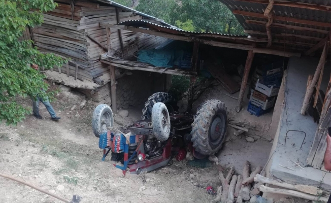 Malatya'da traktör kazası: 1 yaralı