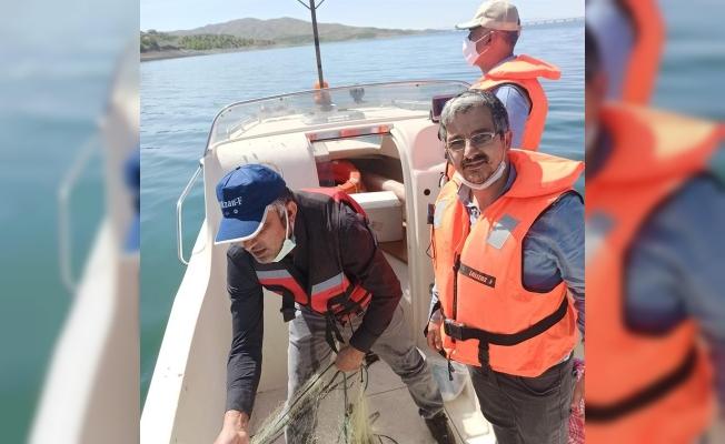 Malatya'da balık av yasağına sıkı denetim