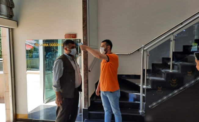 Malatya'da normalleşme sonrasında düğün salonları hazır