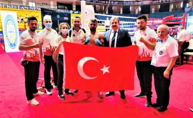 Malatyalı sporcu Okan Yamadağ Avrupa Şampiyonu oldu