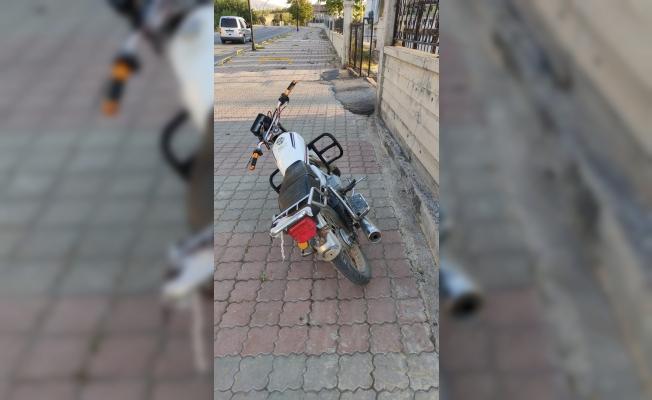 Motosiklete, fiyatı kadar ceza uygulandı