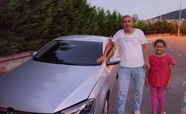 Araçlarına giren yılanla İstanbul'a kadar seyahat ettiler